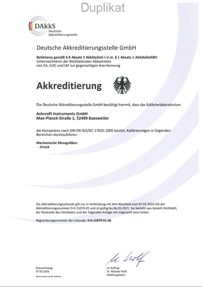Ashcroft Pressure and Temperature Instrumentation | Trust the Shield